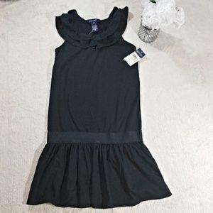 NWT. GIRL DRESS RALPH LAUREN BLACK SIZE 6X